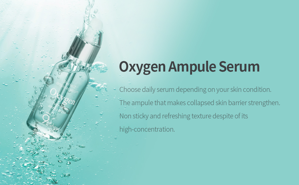 Amazon.com: [9wishes] Extreme Oxygen Ampule Serum 0.85Fl. Oz, e25ml: Beauty