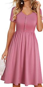 summer dresses for women dress casual summer dresses knee length for women pocket dress short sleeve
