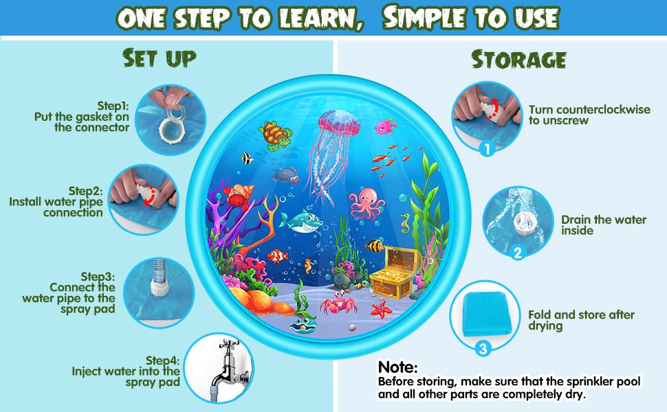 Splash Play Mat