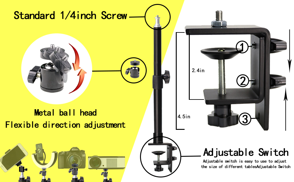 Tabletop Light Stand Base
