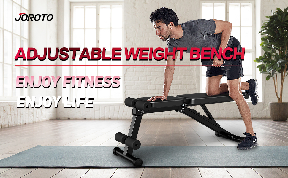 Adjustable Weigh Bench for Home Gym