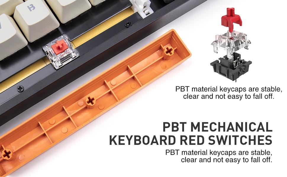 PBT mechanical keyboard