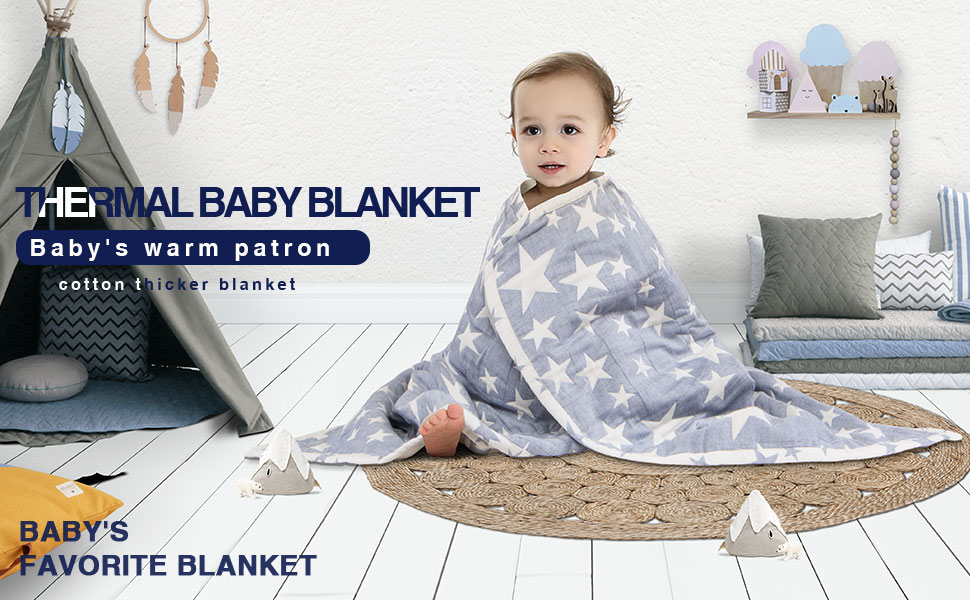 NTBAY Cotton Blanket