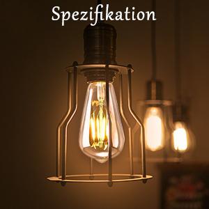 LED Vintage gloeilamp E27