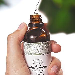 Aceite de ricino para la piel