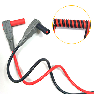 KAIWEETS Soft Silicone Electrician Test Leads Kit CAT III 1000V /& CAT IV 600V...