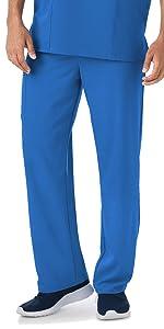 Model wearing Jockey 2338 men's Classic Stretch Scrub Pant
