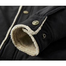 how'on winter fur mens fur coat men winter clothes mens sherpa jacket green mens jacket with fleece