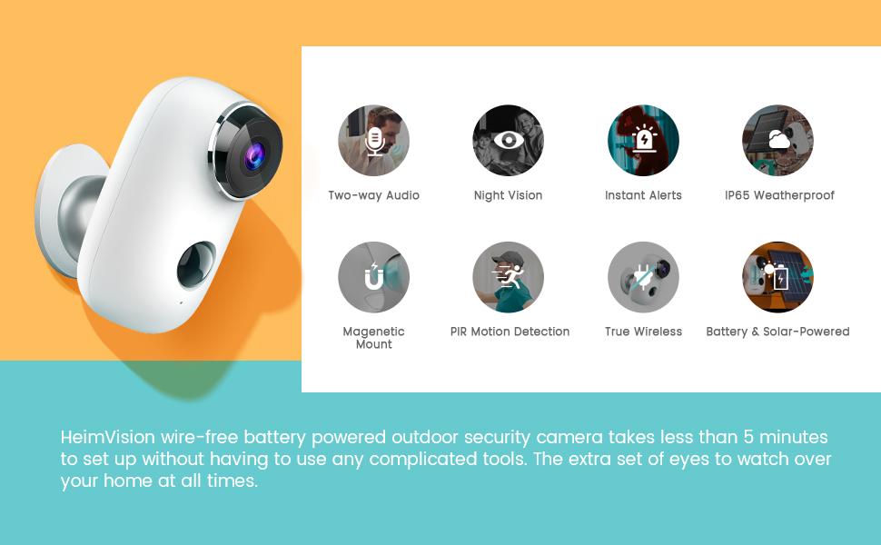 outdoor securtiy camera