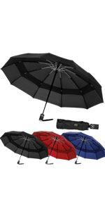 42 INCH Vented Travel Umbrella