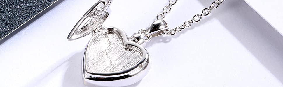 urn locket necklace for ashes
