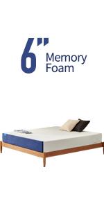 6 inch twin mattress