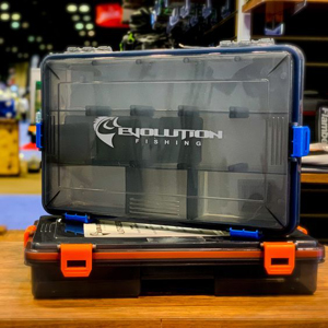 Evolution Fishing Waterproof Tackle Boxes