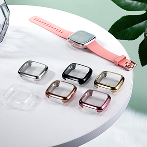 6 colors cases for Fitbit Versa 2 watch