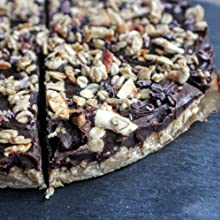 Chocolate Coconut Protein Slice from Vivo Life Perform protein powder