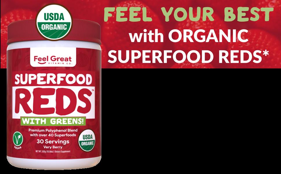 Superfood Vital Reds Superfood Powder