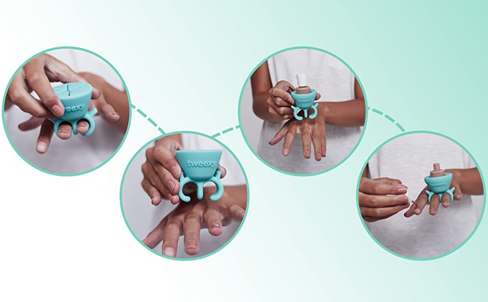 How to Use tweexy, Easy Nail Care Tool