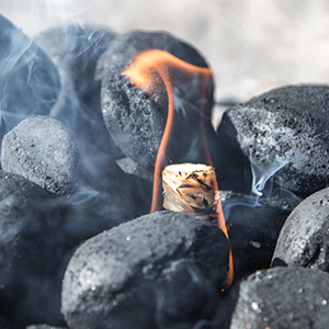 Firelighters for coal wood charcoal bbq fireplace stove