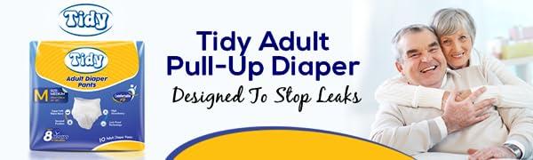 adult pull up ,tidy , Adult Diaper Pants