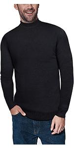 Men's Sweater Mock Neck