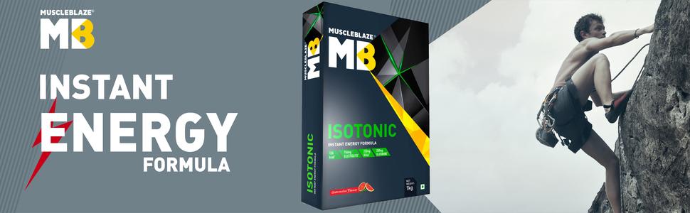 MuscleBlaze Isotonic: Energy formula for elevated performance