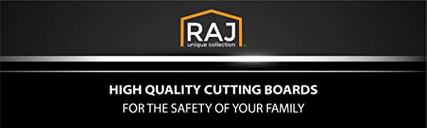 Raj plastic cutting board high quality bpa free non-slip safe for your family