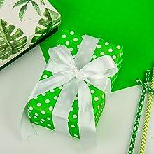 green polka dot sheets