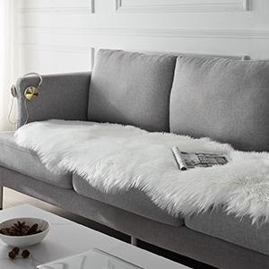 faux sheepslin fur rugs