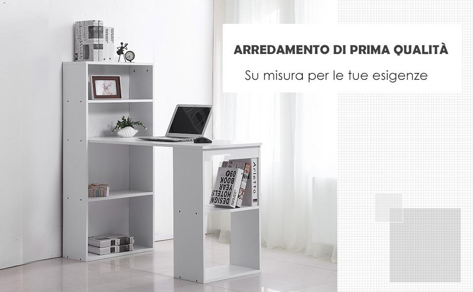 scrivania da casa homcom