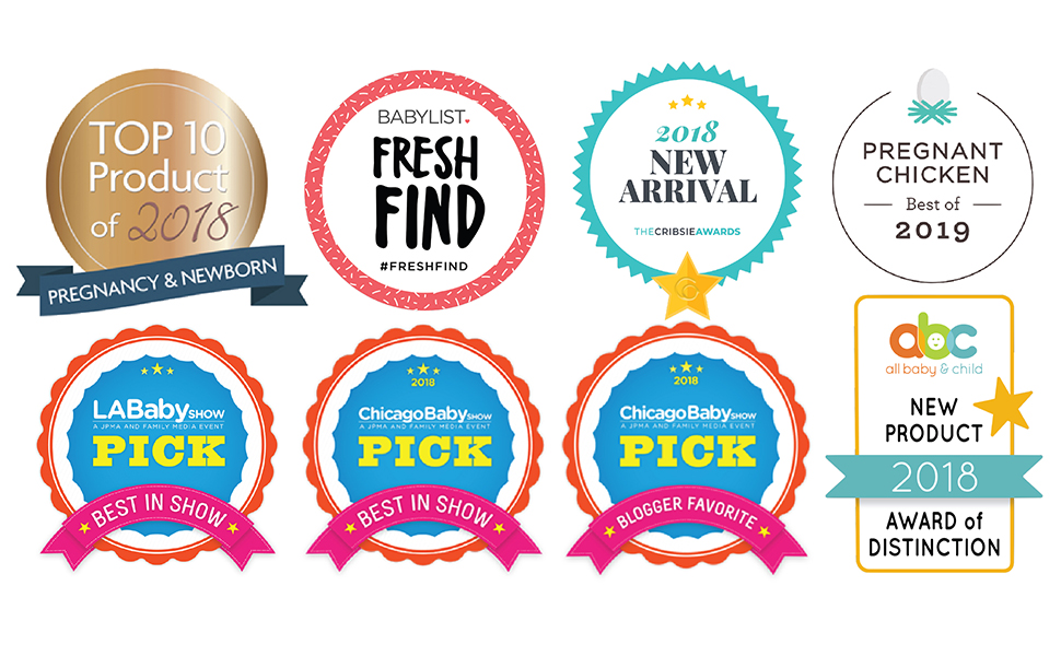 rockermama-awards top-10-products-of-2018 2018-new-arrival pregnant-chicken-best-of-2019 abc-award