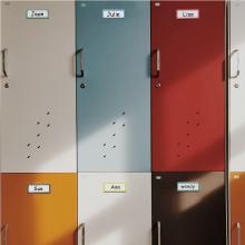 Lockers Name Plates