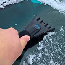| Easily Removes Frost EVERSPROUT Twist-On SnowBuster Ice Scraper Ice 3//4-inch Acme Snow Pole Not Included Perfect for Car Windshields /& Windows | Twists onto Standard US Threaded Pole