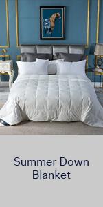 down blanket summer down comforter king size light down comforter