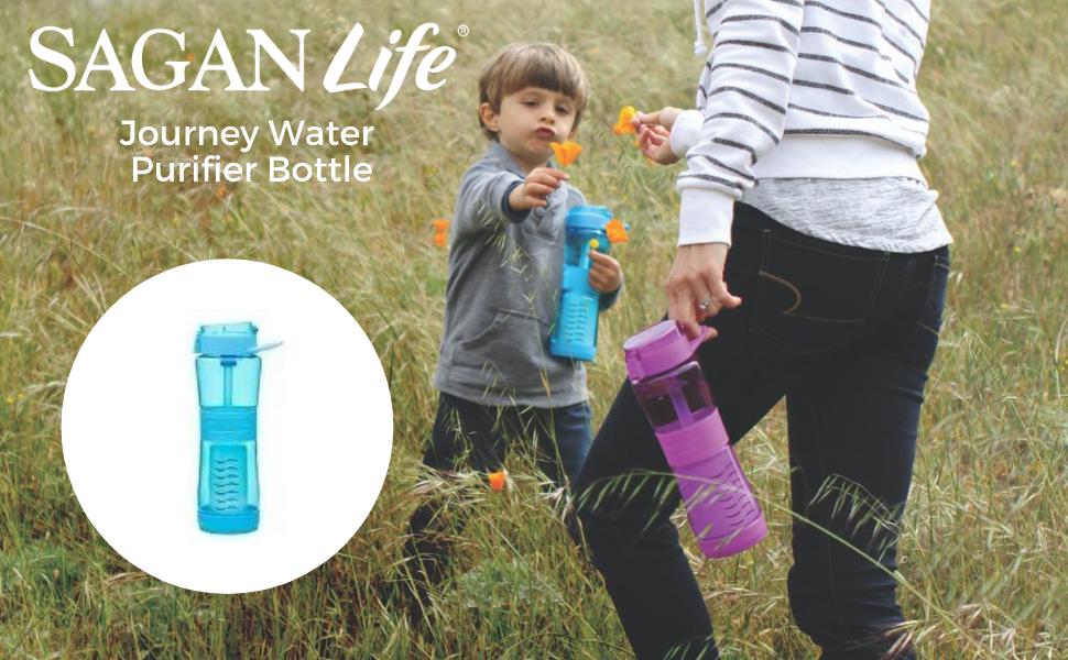 best filtered water bottle for travel, portable water filter for travel