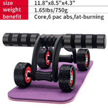 ab roller with knee pad
