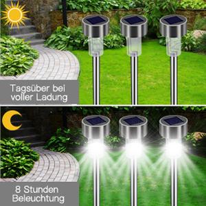 LED Wegleuchte Solarlampe