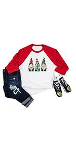 Merry Christmas Shirts Women Funny Dwarfs Shirt