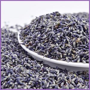Natural lavender buds
