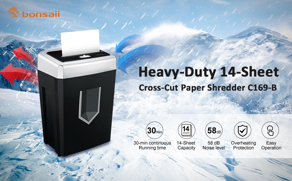 heavy duty shredders