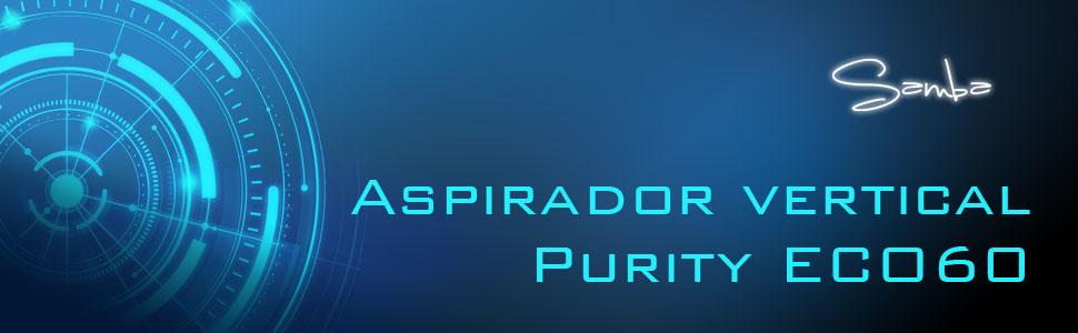 aspirador vertical, aspirador samba, aspirador con cable