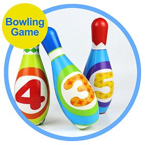 kids bowling game