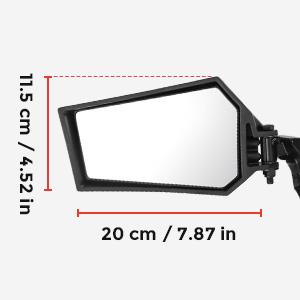 kemimoto RZR Foldinkemimoto RZR Folding Side View Mirrorsg Side View Mirrors