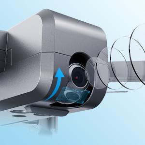 2K HDカメラと単軸ユニバーサルジョイント