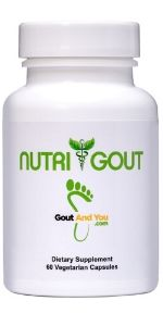 NutriGout Uric Acid Support Supplement