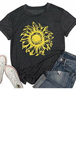 Sunflower T-shirt Women