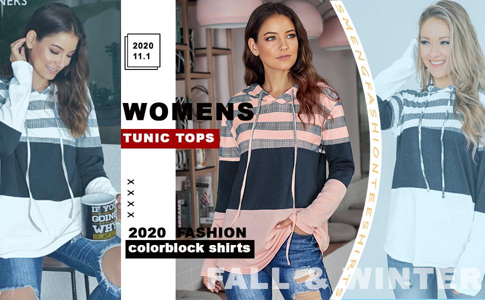womens fall fashion hoodies winter tops