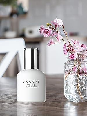 Accoje, Korean product, Korean Skincare, Wonderskin,ACCOJE WHITENING CAPSULE ESSENCE