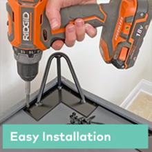 easy installation furniture legs