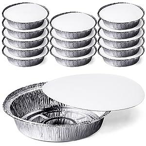 Tin foil pans with lids