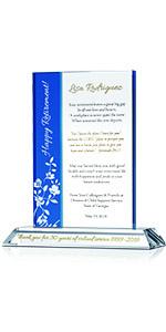 Personalized Religious Retirement Gift Plaque